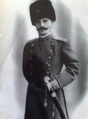 Амадзи Магомед - офицер русской армии